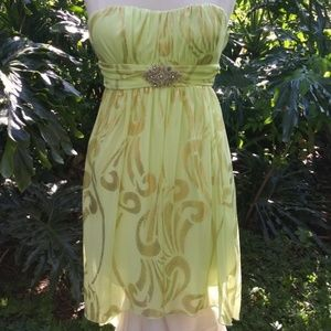 BCX Strapless Dress